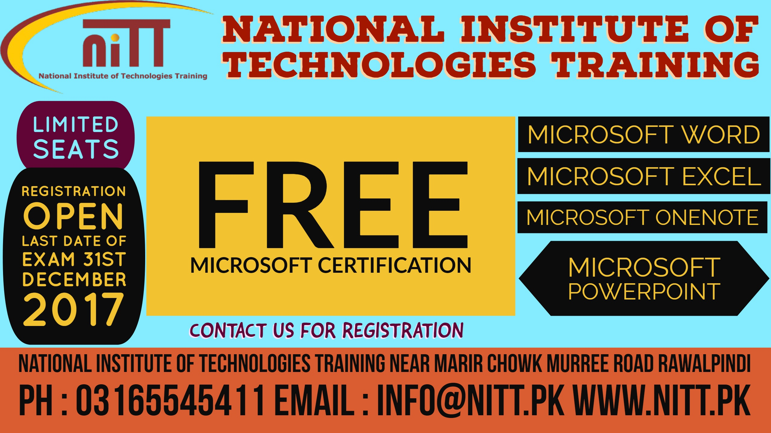 Free Microsoft Certification National Institute Of Technologies